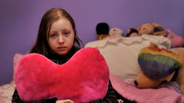 Hannah Thompson is waiting for a lung transplant.