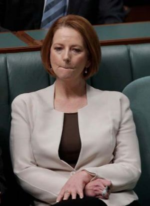 Prime Minister Julia Gillard is caught between those fighting poker-machine reforms and the uncompromising position of ...