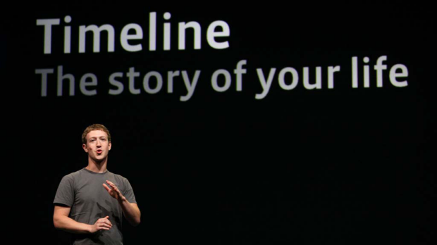 Facebook's new Timelines feature creates a chronological scrapbook of major events in your life.