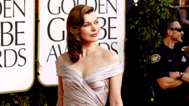 Flawless ... at the 68th annual Golden Globe awards.
