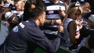 RAW VISION: Geelong's final open training session (Video Thumbnail)