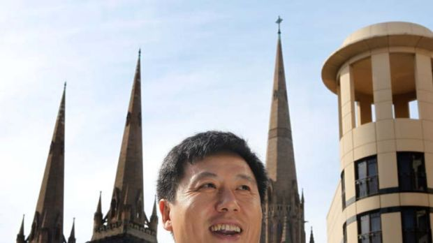 Bad report … US academic Yong Zhao, in Melbourne yesterday, says students under the East Asian model are under stress.
