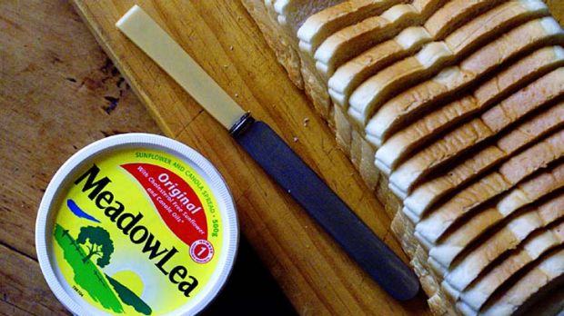 Shareholders of the company that owns Meadow Lea margarine questioned the board in Sydney yesterday.