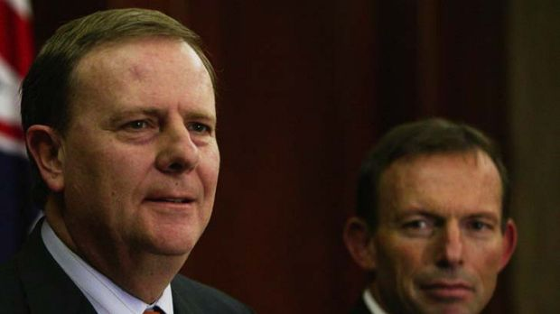 Criticism ... Peter Costello has questioned Tony Abbott's reluctance to embrace changes to industrial relations.