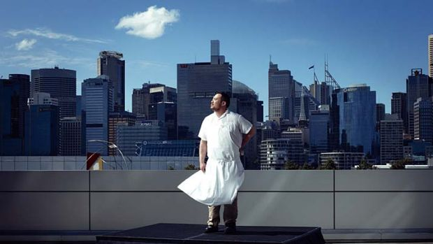 """New York chef David Chang . . . """"If I had come here when I was 21, I would never have left."""""""