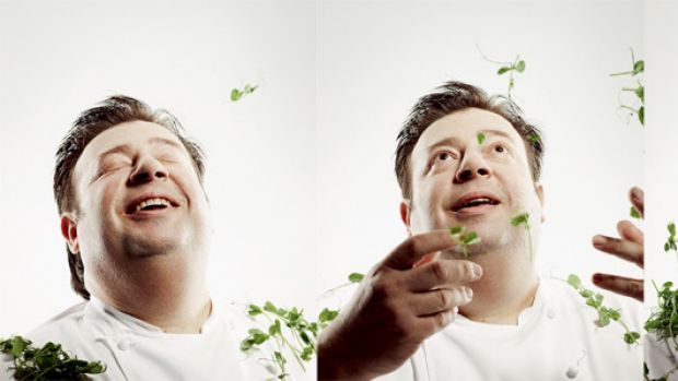 """Peter Gilmore . .  """"This is my kitchen and I decide how things are going to taste and look, how we are going to cook ..."""