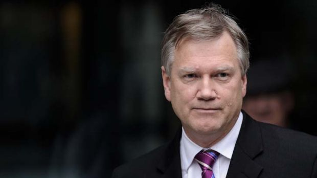 Calculated to offend ... News Ltd columnist Andrew Bolt leaves the Federal Court in Melbourne yesterday after losing the ...