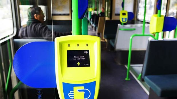 Ker-ching! ... Myki millions are flowing smoothly into the authority's operating budget