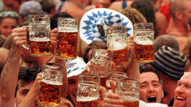 Revelry: DFAT sends a special consular team to Munich during Oktoberfest to aid jailed and hospitalised Australians.