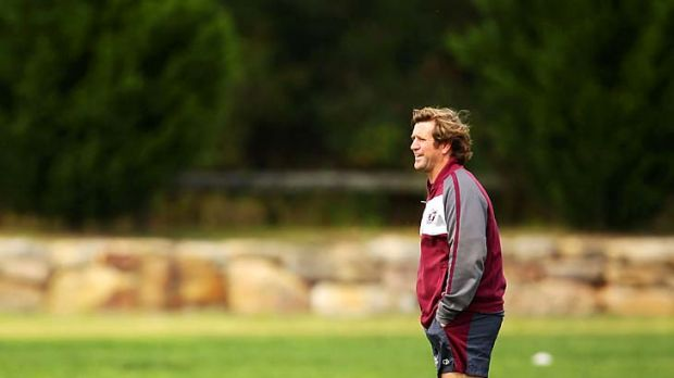 Sea Eagles coach Des Hasler.