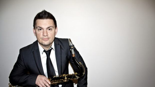 Saxophonist Jaime Gibson has taken a different approach to marketing his band.