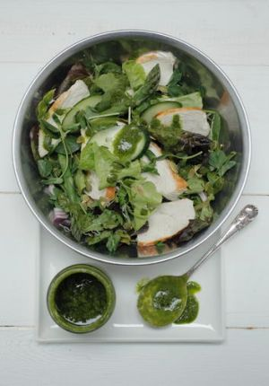 The ultimate green salad.