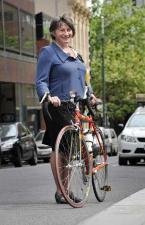 Helen Cocks is an ambassador for Ride to Work Day.