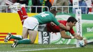 Wales beat Ireland to make semi-finals (Video Thumbnail)