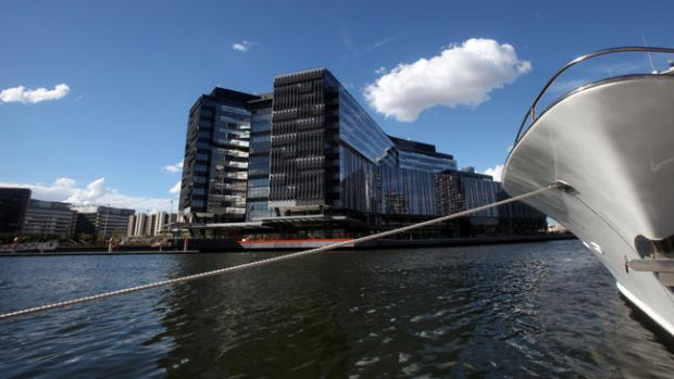 The business end of Melbourne's Docklands highlights new thinking in offices.