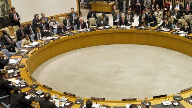 """""""China's and Russia's veto is out of step with the international community's calls on Damascus to stop its brutality""""."""