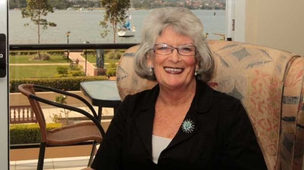 Judith Daley, 65, says she has a comfortable retirement, but doesn't have extravagant tastes.
