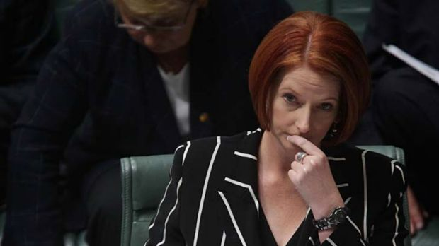 Deliberately ambiguous ...  Julia Gillard.