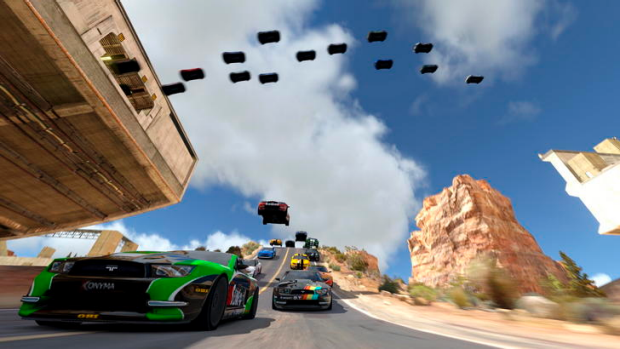 TrackMania 2: Canyon.