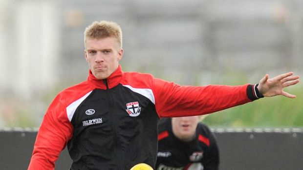 Tommy Walsh... several clubs have sought to lure the promising player away from Seaford.