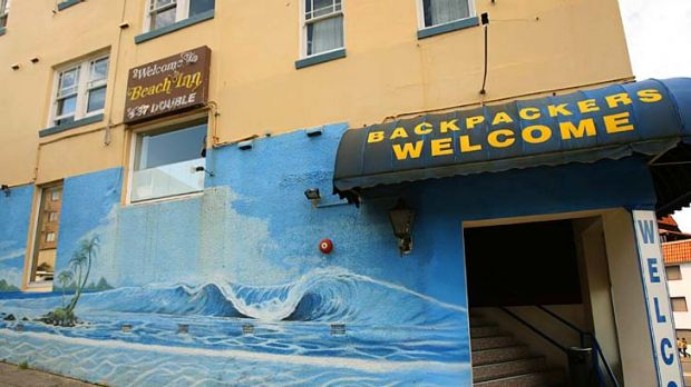Noah's Bondi Beach was engulfed with smoke after a fire.