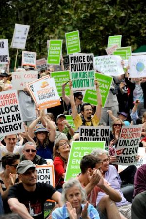 Pro-action groups are just as grassroots as those opposing the carbon tax.