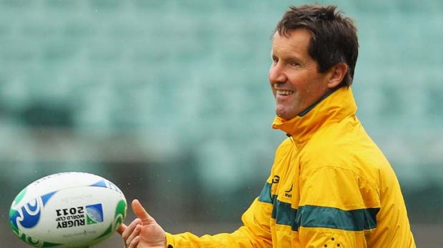 Intending a knockout blow ... Wallabies coach Robbie Deans.