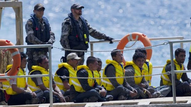 """""""Onshore processing provides powerful incentive for asylum seekers to take the risky voyage to Australia."""""""