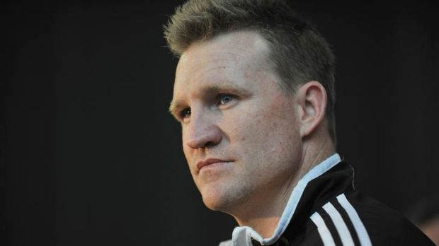 Nathan Buckley, ready to coach Collingwood.