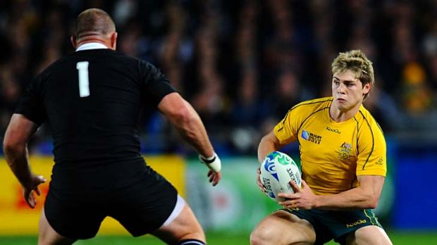 Pick of the Australians ... winger James O'Connor.