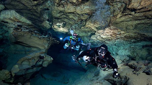 Man Cave Tank : Tank cave man killed in diving tragedy at mount gambier