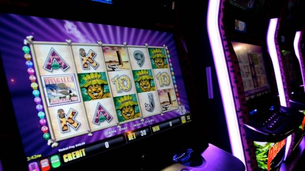 Falling ... NSW has dropped its support for poker machine reforms.