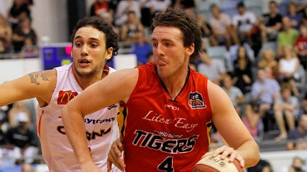 Heartbreaker: former Melbourne Tiger Daryl Corletto will line up against his old team on Saturday night.