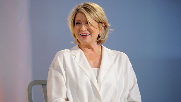 "Martha Stewart's new cafe serves ""Martha's Blend"" coffee, artisanal teas and ""hand-selected"" pastries."