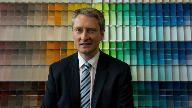 DuluxGroup managing director Patrick Houlihan. The company believes its offer of an annual 3 per cent pay rise to ...