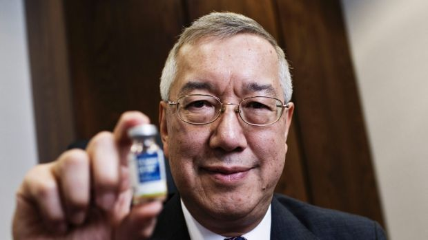 Departed Sirtex Medical chief executive Gilman Wong sold more than a quarter of his holding in October 2016.