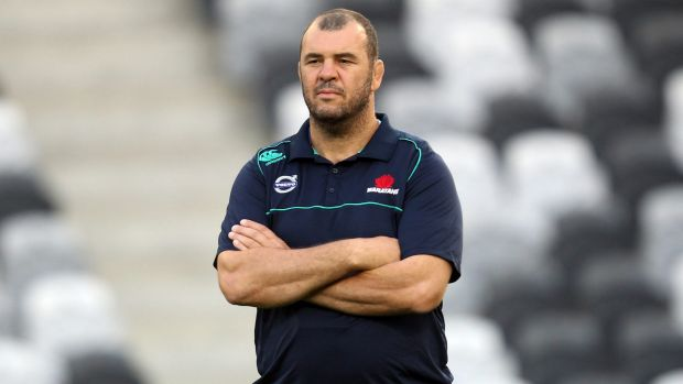 Michael Cheika says it would be foolish to write off Australia's chances of lifting the Webb Ellis Cup for a record ...