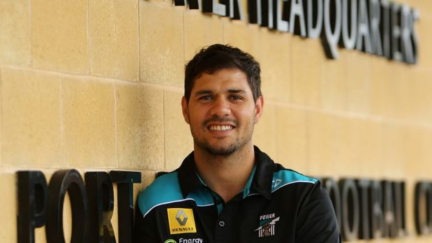 Paddy Ryder at his new club in November last year.