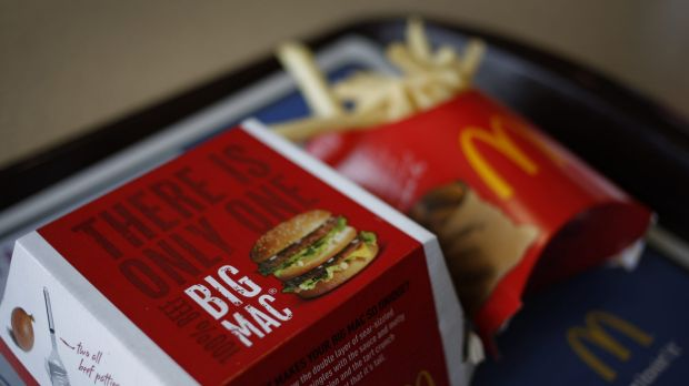 Bad fries: A woman has been charged with assault over an incident at McDonald's in Stanmore.