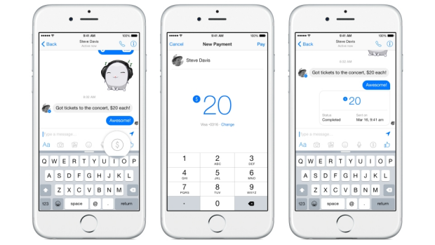 Money transfers between friends are coming soon to Facebook Messenger.