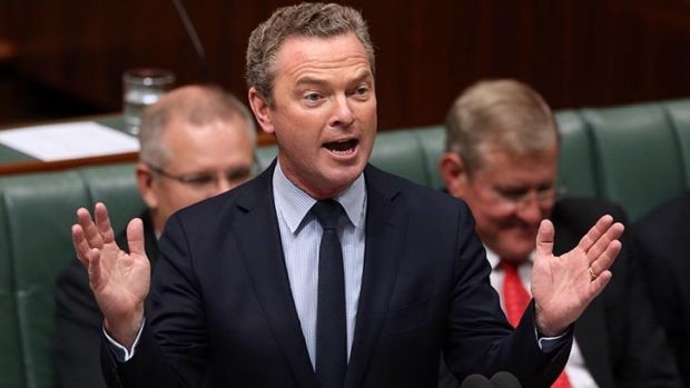 Education Minister Christopher Pyne is writing a book, A Letter to My Children.