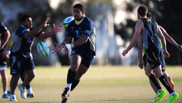 Scott Sio is focused on the Brumbies' Super Rugby goals.