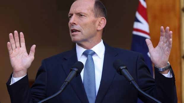 The government intends to serve a full term, says PM Tony Abbott.