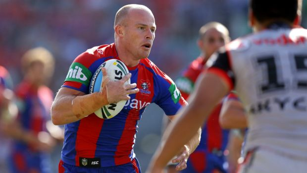 Scott free: Beau Scott is returning to Sydney to play for Parramatta next year.