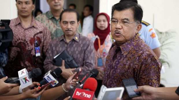 """We will always hear and consider options,"" says Indonesia's Vice President Jusuf Kalla."