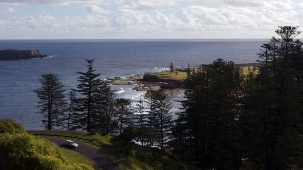 Norfolk Island in the Pacific is one of Australia's external territories.
