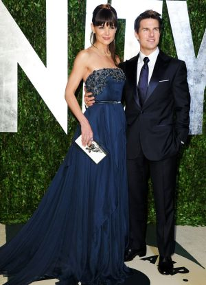 Tom Cruise and ex-wife Katie Holmes have been accused of faking their relationship for the publicity.