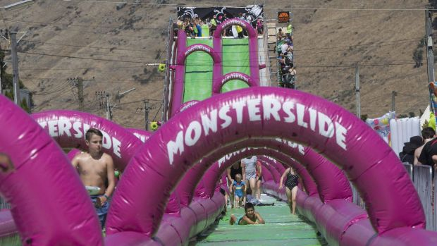 A Monster Slide event in New Zealand.