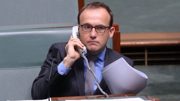 Greens MP Adam Bandt said the government ought to extend the credit-card surcharge move to unfair ATM fees.