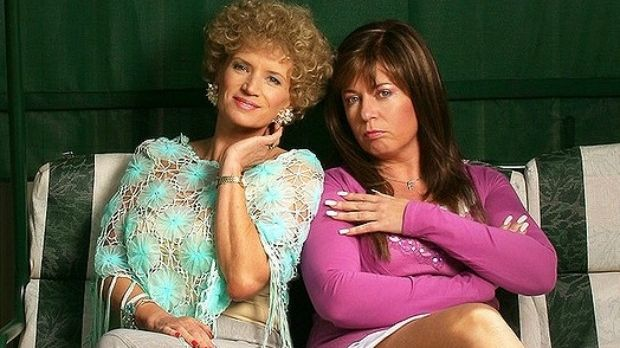 'I want to be effluent': malapropisms and mispronounced words were a regular gag in the TV comedy Kath and Kim and ...
